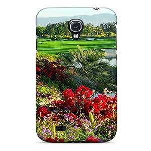 New Tpu Hard Case Premium Galaxy S4 Skin Case Cover(beauty Of Golf)