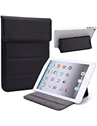 Universal Faux leather Stand & Case fits Samsung Galaxy Tab S2 8.0|Black/Black