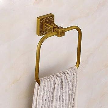Olici Mdrw Badezimmer Accessoires Handtuch Ring Volle Bronze Antik