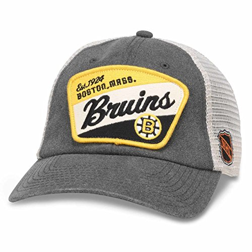 Boston Bruins American Needle Ravenswood (Boston Bruins Womens Adjustable Hat)