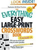 #4: The Everything Easy Large-Print Crosswords Book, Volume II: 150 easy-to-read and easy-to-solve puzzles
