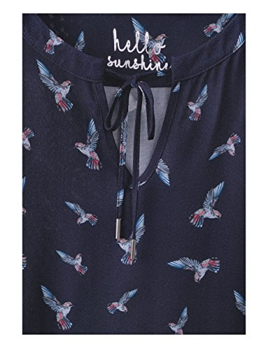 Blue 30128 Deep Femme Cecil Multicolore Blouse qzw0I1I