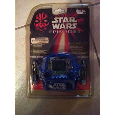 Star Wars Episode I Battle Of Naboo Handheld Electronic Game: Toys & Games