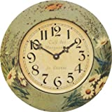 Roger Lascelles Tin Wall Clock, Daisy Design 14.2-Inch Review