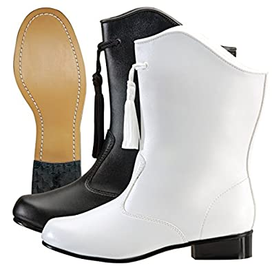 1940s Style Shoes, 40s Shoes McCormicks Womens Vinyl Majorette Boot $46.99 AT vintagedancer.com