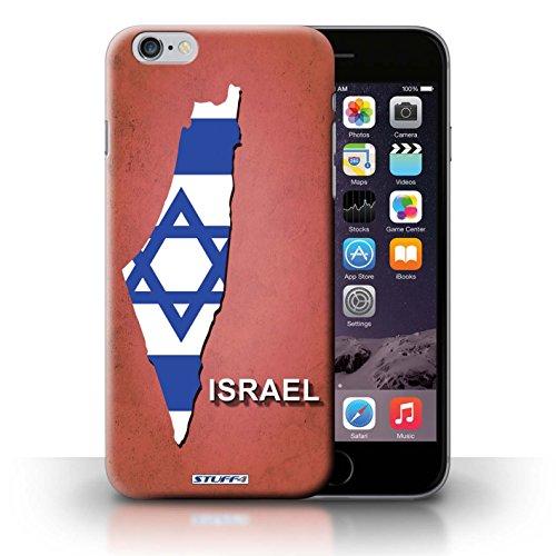 Kobalt® Imprimé Etui / Coque pour iPhone 6+/Plus 5.5 / Israël/Israélien conception / Série Drapeau Pays