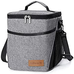 Amazon Com Lifewit Insulated Lunch Box Lunch Bag For