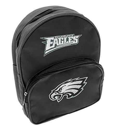 Philadelphia Eagles NFL Kids Mini Backpack, Black (Nfl Backpack Philadelphia Eagles)