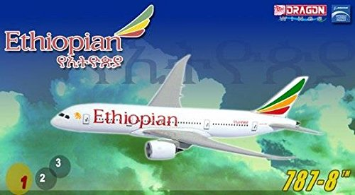 - Dragon Wings - Premiere Collection 1:400 Ethiopian Airlines B787-8