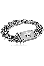 King Baby Men's Star Link Bracelet
