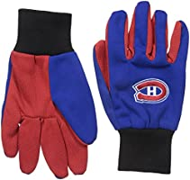 NHL Montreal Canadiens Two Tone Utility Gloves
