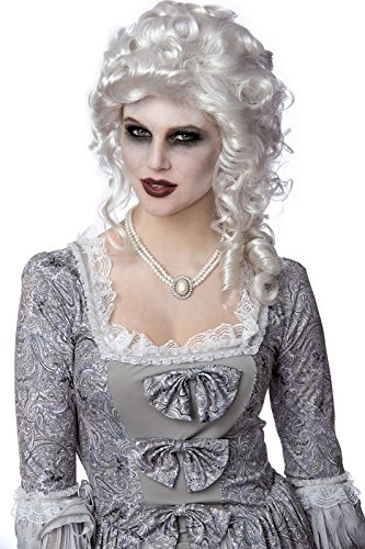 Costume Culture Women's French Queen Wig, White, One -
