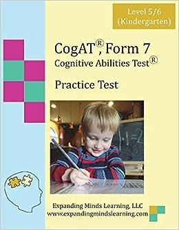 Cogat form 7 practice test level 56 kindergarten ingramcontent cogat form 7 practice test level 56 kindergarten 2012 free shipping fandeluxe Gallery