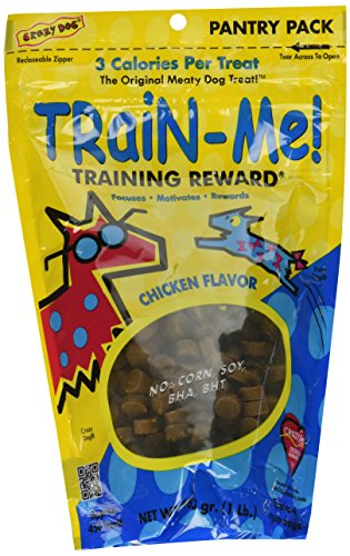 3PACK Crazy Dog TrainMe Training Treats Chicken Flavor (3 lb) (Crazy Train Dog Me)