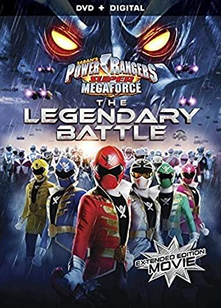 Amazon.com: Power Rangers Super Megaforce: The Legendary ...
