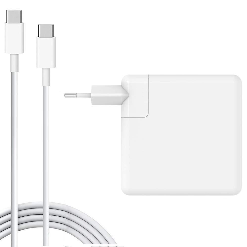 XITAI 61W USB-C Type-C A1718 Adaptador Cargador Portátil ...