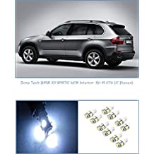 Zone Tech BMW X5 WHITE LED Lights Interior Package Kit M E70 (17 Pieces)