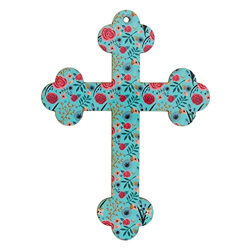 Message Brands God Notes Field of Flowers Wall Cross