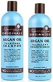 Renpure Organics Argan Oil Shampoo & Conditioner 16 oz (Pack of 2)