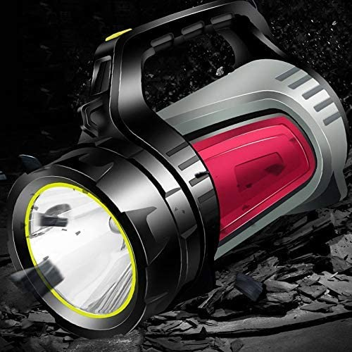 LED Searchlight Flashlight Torch Light Rechargeable Waterproof for Camping Outdoor xinqing