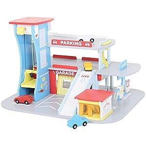 Amazon.com: Bigjigs Toys JT106 Heritage Playset City Auto ...