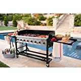Commercial Grade Large BBQ Grill for Events 8 burners 1ST Class Review