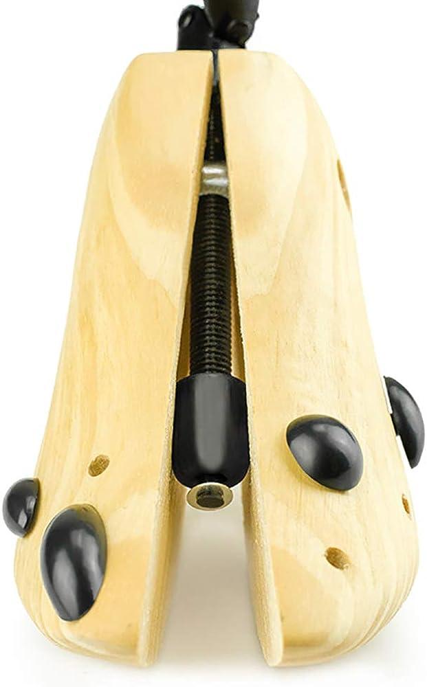 Women Men Wooden Boot Stretcher Hot Adjustable Boot Shaper Tree Wood New