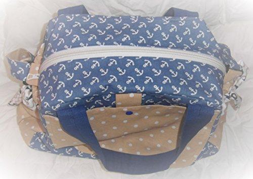 Bolso cambiador Bolsa XL Maritim Bolsa para pañales mano fabricado