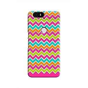 Cover It Up - Jagged Pop Nexus 6PHard Case