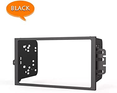 Elook Double Din Car Radio Stereo in-Dash Installation Kit for Select 1990-Up GM Vehicles