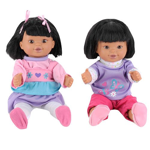 African American Toys R Us 5f5E9BE 7CE185B9 You /& Me Hide and Seek Friends Dolls