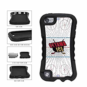 Ottawa Ice 2-Piece Dual Layer Phone Case Back For SamSung Galaxy S4 Mini Case Cover Generation