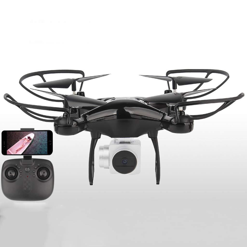 Drohne 30W HD Kamera Drone Fernbedienung RC Quadcopter mit 4 Kanal 2.4G 6 Gyro Control One Key Start Schwarz