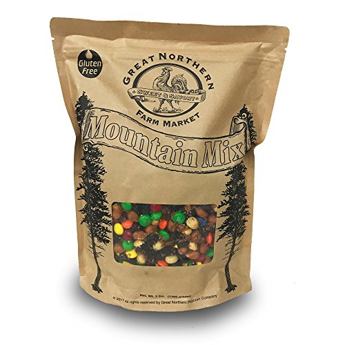 Great Northern Trail Mix Sweet And Savory Mountain Mix 3 Pound Bag made with real (Popcorn Trail Mix)