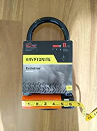 kryptonite evolution series 4 standard bicycle u lock with trans. Black Bedroom Furniture Sets. Home Design Ideas