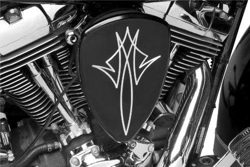 Baron Custom Accesories Pinstripe Black Big Air Kit for 1999-2007 Yamaha Road Star 1600/1700