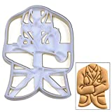 Doctor White Coat cookie cutter, 1 pc, Ideal for medical themed party
