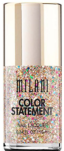Milani Color Statement Nail Lacquer, Gilded Rocks, 0.34 Fluid Ounce
