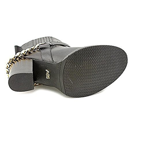 Abs By Allen Schwartz Women Desiree Leather Closed Toe Enkellaarsjes Mode Zwart