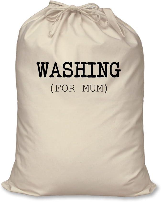 W/äschesack Waschen f/ür Mama 100/% nat/ürliche Baumwolle Aufbewahrung Zuhause Organisation W/äschekorb Large 60cm x 76cm
