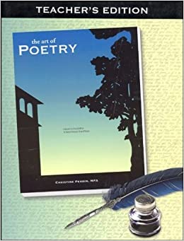 Book The Art of Poetry Teacher's Edition by Christine Perrin (2010-01-01)