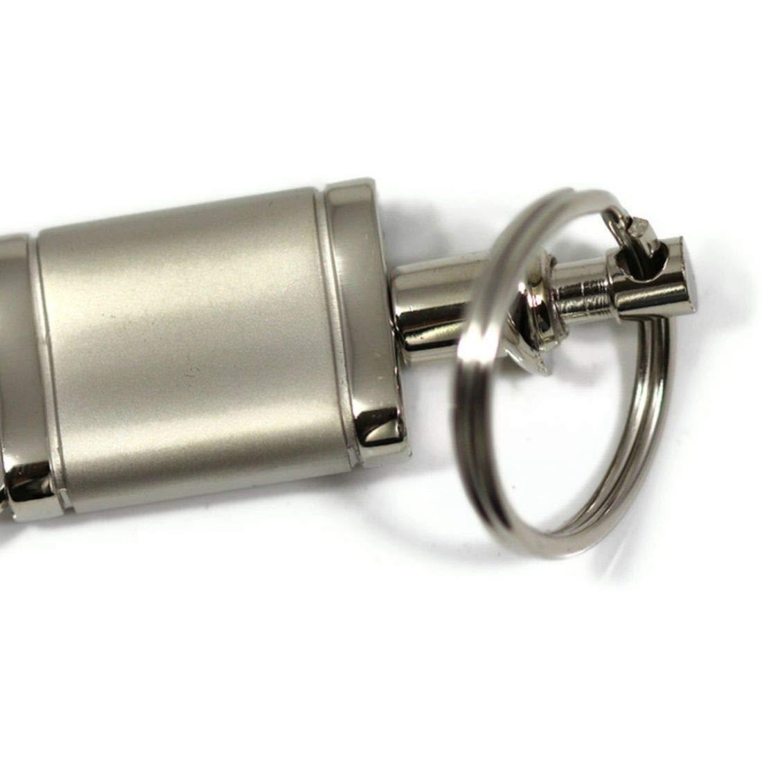 Infiniti G37 Satin-Chrome Valet Key Fob Authentic Logo Key Chain Key Ring Keychain Lanyard