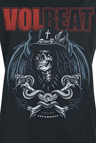 Manches Boogie Noir shirt Volbeat T Courtes Voodoo vI0Fw0q6WS