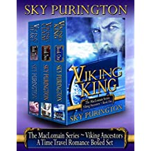 The MacLomain Series: Viking Ancestors (Books 1, 2 and 3)- A Time Travel Romance Boxed Set