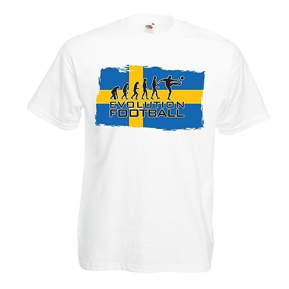 lepni.me Camisetas Hombre Campeonato Mundial de fútbol de la Copa Mundial 2018, Equipo
