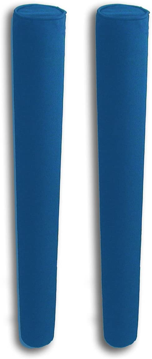 """B01I43H4BC 36"""" Pair of Boat Trailer Guide Pole Pad and Cover - Heavy Duty Canvas - Capped Ends - UV Treated - Made in USA - ROYAL BLUE 51kzsBrR0nL"""