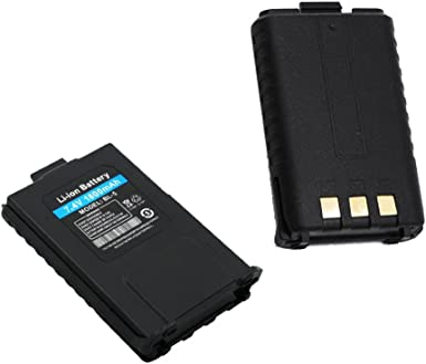 Baofeng Original UV-5R 7,4 V 1800 mAh Li-ion Batería para Baofeng UV-5R, UV- 5RA, UV-5RE, TYT F8 F9, VITAI VT-uv3 VT-uv9r de doble vía Radios de superstore _ electronics (TM): Amazon.es: Electrónica
