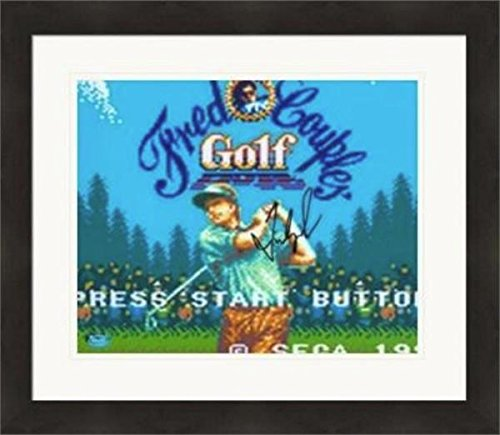 Autographed Fred Couples Photograph - 8x10 Hall of Famer SC#9 Video Game Cover Matted & Framed - Autographed Golf Photos