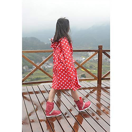 L escursionismo elettrico Split Suit Red Impermeabile all'aperto Geyao femminile Rain Color moda impermeabile coreano Dimensione Suit adulto motociclismo wTCqYIH