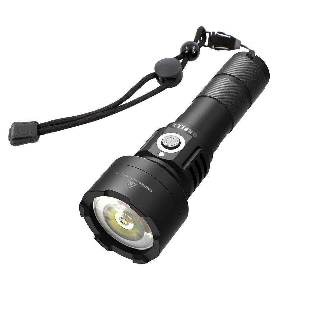 Linterna LED, Brilex 10 modos de iluminación Linterna ligera Linterna impermeable de alto lúmen para acampar, pesca, senderismo, exploración, excursión y otras actividades al aire libre. …
